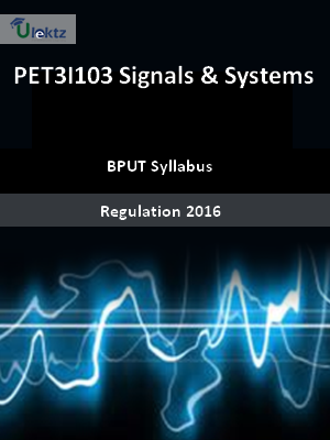 Signals & Systems - Syllabus