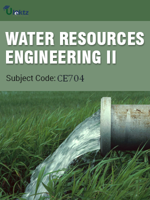 Important Questions for WATER RESOURCES ENGINEERING-II