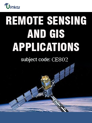 Important Questions for REMOTE SENSING AND GIS APPLICATIONS