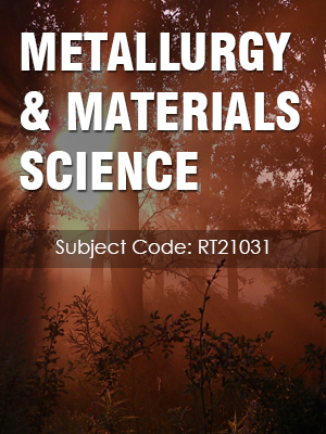 Important Question for METALLURGY & MATERIALS SCIENCE