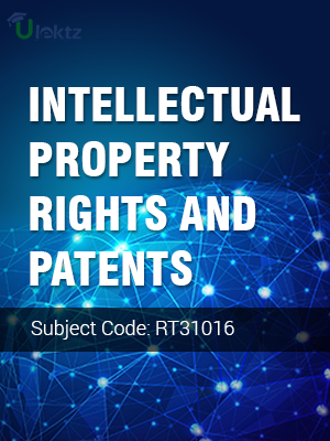 Important Question for INTELLECTUAL PROPERTY RIGHTS AND PATENTS