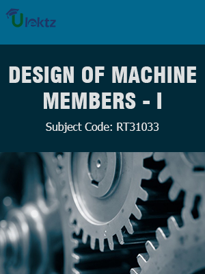 Important Question for DESIGN OF MACHINE MEMBERS - I