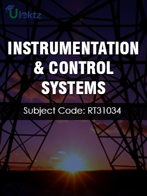 Important Question for Instrumentation & Control Systems