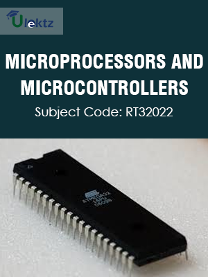 Important Question for MICROPROCESSORS AND MICROCONTROLLERS