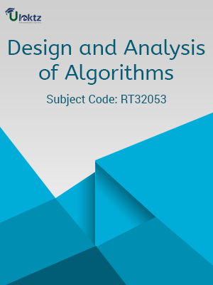 Important Question for Design and Analysis of Algorithms.