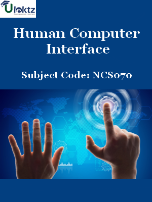 Important Question for Human Computer Interface