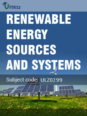Renewable Energy Sources and Systems