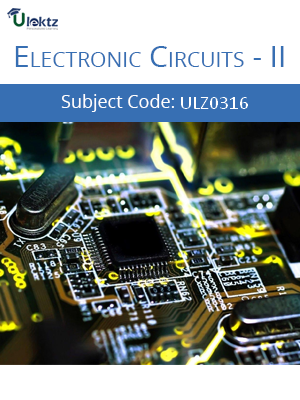 Electronic Circuits II