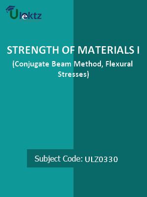 Strength of Materials – I(Conjugate Beam Method,Flexural Stresses)