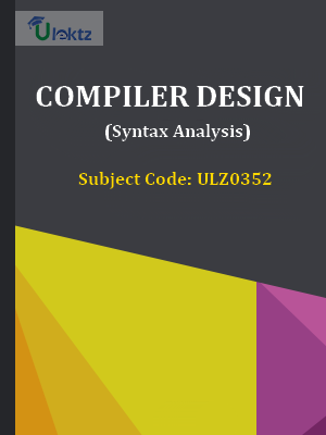 Compiler Design (Syntax Analysis)