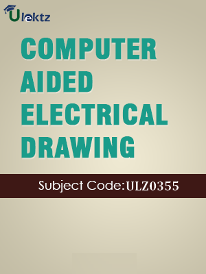 CAED (Computer Aided Electrical Drawing)