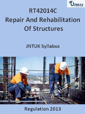Repair And Rehabilitation Of Structures - Syllabus