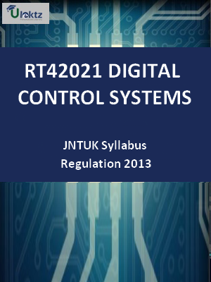 Digital Control Systems  - Syllabus
