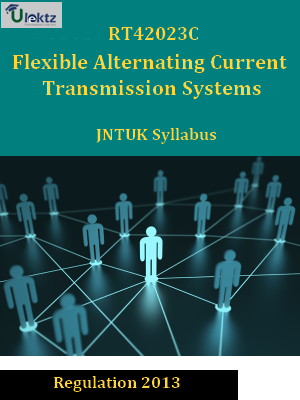 Flexible Alternating Current Transmission Systems - Syllabus