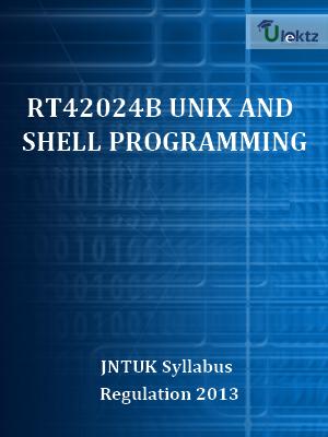 UNIX and Shell Programming - Syllabus