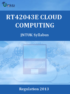 Cloud Computing - Syllabus