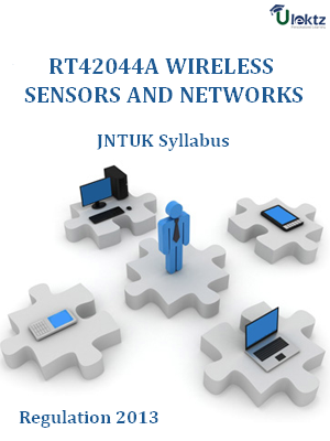 Wireless Sensors And Networks - Syllabus