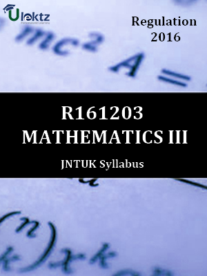 Mathematics-III - Syllabus