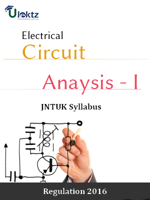 ELECTRICAL CIRCUIT ANALYSIS - I - Syllabus