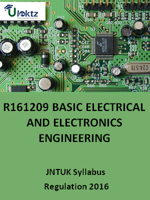 Basic Electrical And  Electronics Engineering - Syllabus