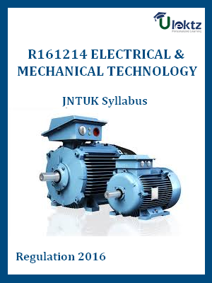 Electrical&Mechanical Technology - Syllabus