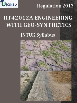 Engineering With Geo-Synthetics Syllabus