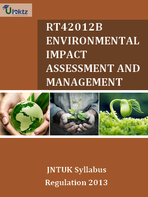 Environmental Impact Assessment And Management Syllabus
