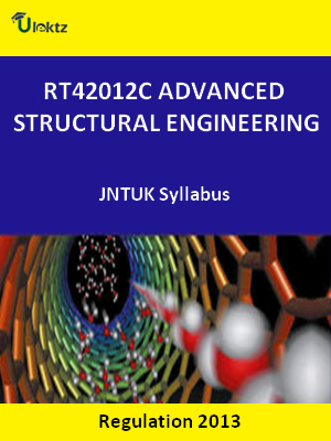 Advanced Structural Engineering Syllabus