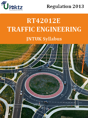Traffic Engineering  Syllabus