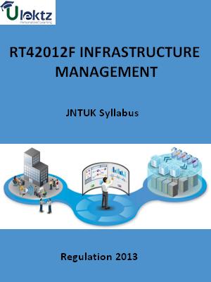Infrastructure Management Syllabus