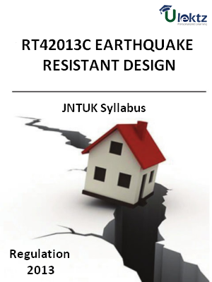 Earthquake Resistant Design Syllabus