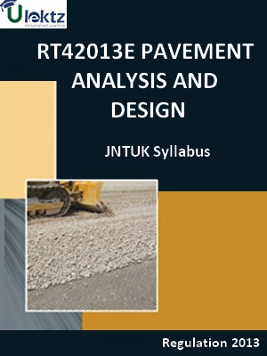 Pavement Analysis And Design Syllabus