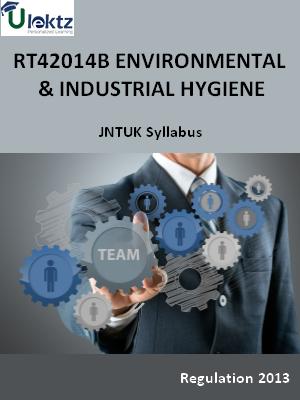 Environmental And Industrial Hygiene Syllabus