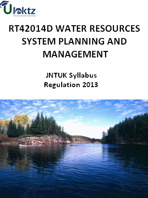 Water Resources System Planning And Management