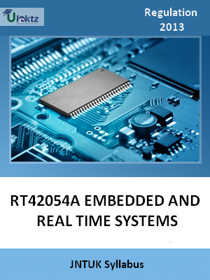 Embedded and Real Time Systems-Syllabus
