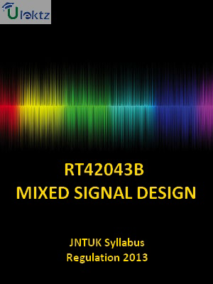 Mixed Signal Design Syllabus