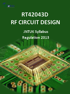 Rf Circuit Design Syllabus