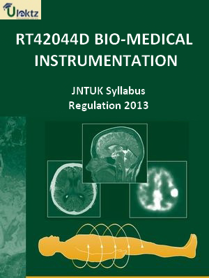 Bio-Medical Instrumentation Syllabus
