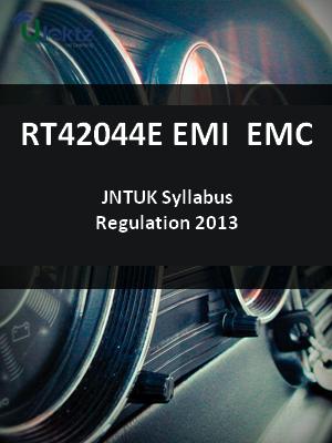 EMI  EMC Syllabus