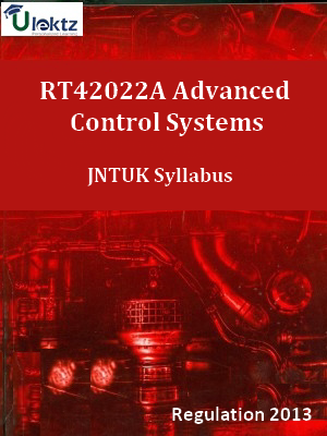 Advanced Control Systems Syllabus