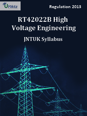 High Voltage Engineering Syllabus