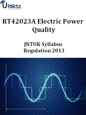 Electric Power Quality Syllabus