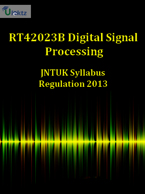 Digital Signal Processing  Syllabus