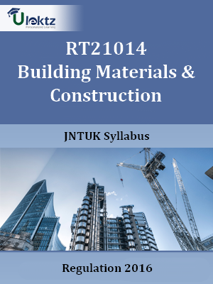 Building Materials & Construction - Syllabus