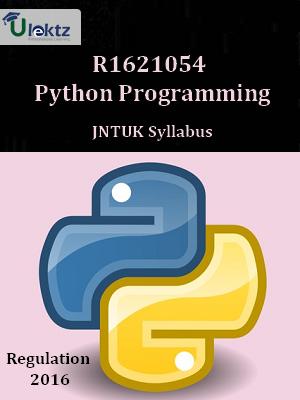 Python Programming - Syllabus