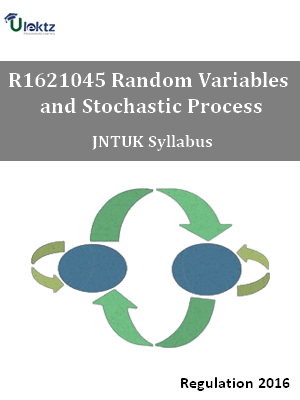 Random Variables and Stochastic Process - Syllabus