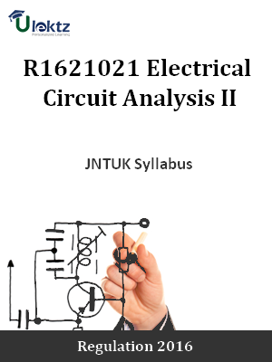 Electrical Circuit Analysis II - Syllabus