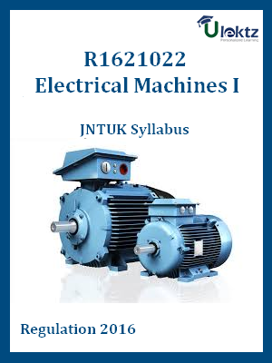 Electrical Machines-II - Syllabus