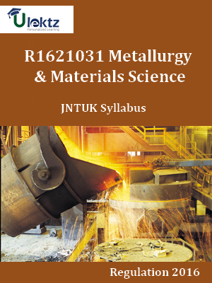 Metallurgy & Materials Science - Syllabus
