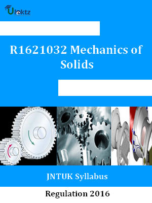 Mechanics of Solids - Syllabus